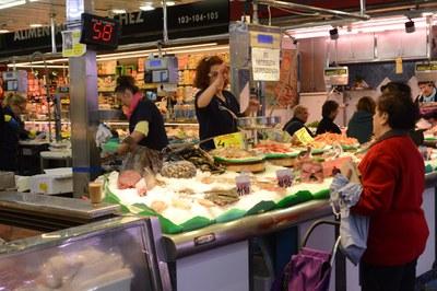 Interior del Mercado en una imagen de archivo (foto: Ayuntamiento de Rubí - Localpres).