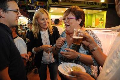El concejal de Comercio y la alcaldesa (foto: Localpres)