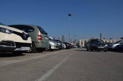 El Escardívol verá limitado el estacionamiento con motivo de los próximos eventos festivos (foto: Localpres).