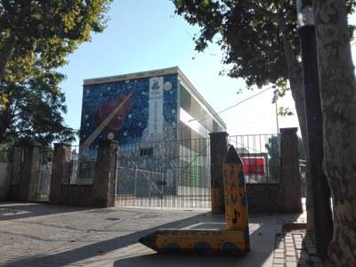 El patio de la Escuela Pau Casals abrirá los sábados y domingos.