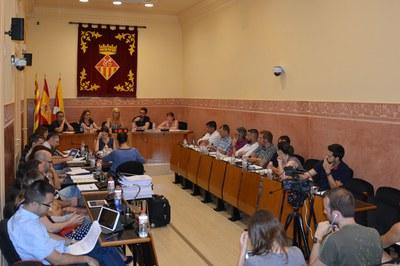 El de este jueves ha sido el último Pleno antes de las vacaciones de verano.