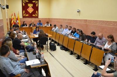 Sesión plenaria del mes de mayo (foto: Ayuntamiento de Rubí).
