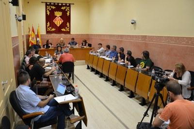 Primera sesión plenaria del nuevo curso político.