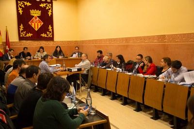 El pleno de presupuestos (foto: Localpres).