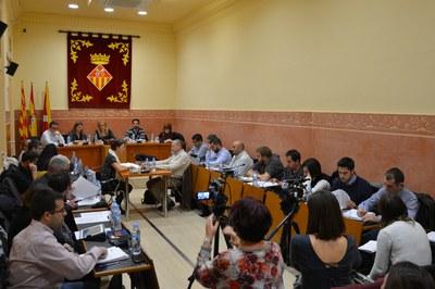 El Pleno del Ayuntamiento de Rubí se ha reunido este jueves para celebrar la sesión ordinaria del mes de noviembre.