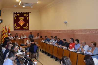 El Pleno municipal se ha celebrado este jueves en la Sala de Plenos del Ayuntamiento.