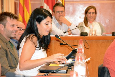 Arés Tubau se ha despedido del Pleno haciendo balance de sus diez años como concejala.