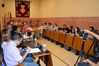 El Pleno municipal del mes de junio se ha adelantado a este miércoles.