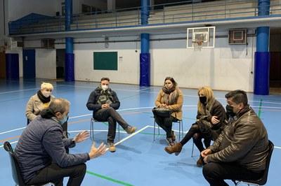 """El CEB Sant Jordi ha sido una de las entidades que ha participado recientemente en """"Alcaldía en los barrios"""" (foto: Ayuntamiento de Rubí)."""