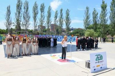 La actividad anterior se celebró en el parque del Castell (foto: Ayuntamiento de Rubí - Localpres).