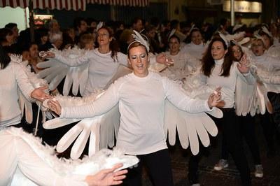 Las palomas de la Schola (foto: Localpres)