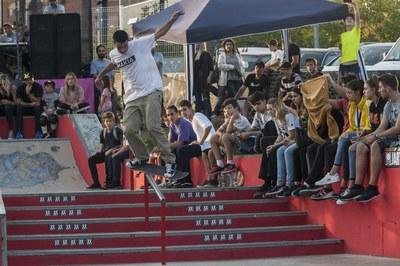 Más de 200 personas siguieron la actuación de la treintena de participantes del año pasado (foto: Ayuntamiento de Rubí - César Font).