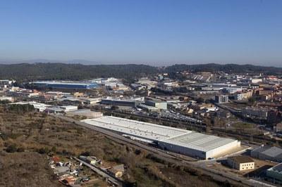 Uno de los polígonos de actividad económica de la ciudad (foto:  Ajuntament de Rubí - Ramon Vilalta).