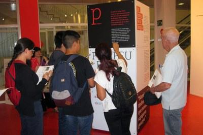 La exposición sobre Pompeu Fabra se puede visitar hasta el 11 de octubre.