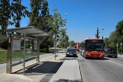 La frecuencia de paso disminuye en agosto (foto: Ayuntamiento).