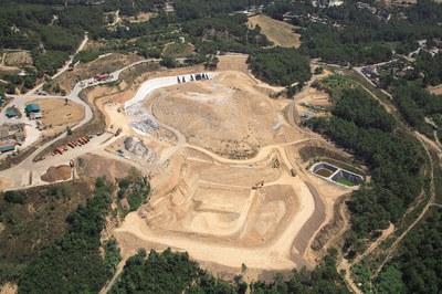 Imagen de archivo del vertedero de Can Carreras (foto: Ayuntamiento).