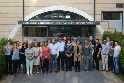 Ana María Martínez es una de las alcaldesas que integran el Consejo de alcaldes y alcaldesas del Vallès Occidental (foto: Localpres).