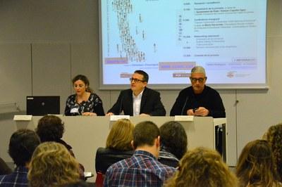 La jornada ha sido presentada por el concejal del Área de Desarrollo Económico Local, Rafael Güeto, y el consejero de Ocupación del Consejo Comarcal del Vallès Occidental, Ramon Capolat.