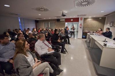 La sesión se ha celebrado en el Rubí Desenvolupament (Foto: Localpres).