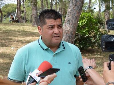 El regidor d'Obra Pública, Juan López, ha explicat la campanya.
