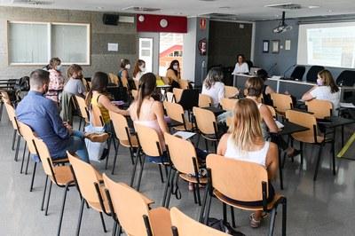 Este martes, se ha hecho la primera sesión en Rubí Forma (foto: Ayuntamiento de Rubí - Localpres).
