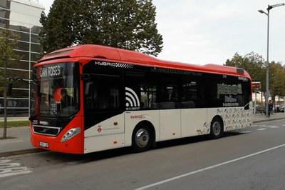 Los nuevos buses han comenzado a operar en las líneas 2 y 5 (foto: Ayuntamiento - Localpres).