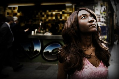 La vocalista de The Excitements en una imagen promocional (foto: www.theexcitementsband.com).