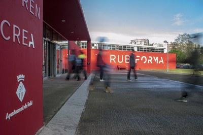 El Rubí Forma está en la rambleta de Joan Miró (foto: Ayuntamiento de Rubí - César Font).