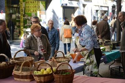 Agricultura y arte se dan de la mano en la Feria de Sant Galderic (foto: Localpres).