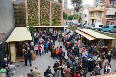 Ambiente en la Feria del vino (foto: Localpres)