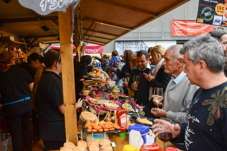 Tapas elaboradas por el Mercado (foto: Localpres)