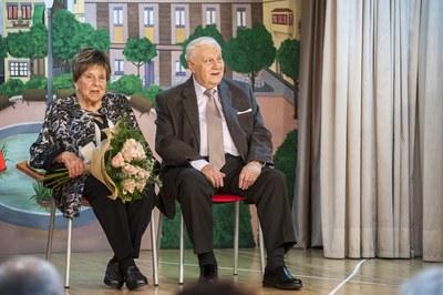 Dolors Mumany y Leandre Pons (foto: Cesar Font)
