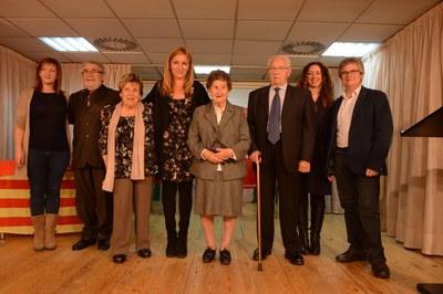 El homenaje a Rusiñol y Roig ha tenido lugar en el Casal de la Gent Gran de Rubí (foto: Localpres).