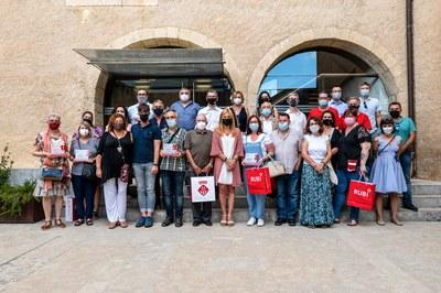 La recepción se ha celebrado este año en el Castell (foto: Ayuntamiento de Rubí - Localpres).