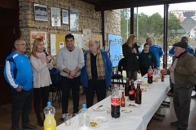 El club ha hecho un aperitivo para cerrar la temporada (foto: Localpres).