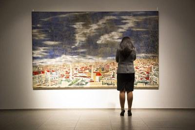Inauguración de la exposición de Anna Tamayo (foto cedida)