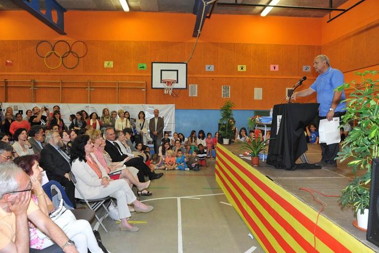 Miquel Morell durante su intervención (foto: Localpres)
