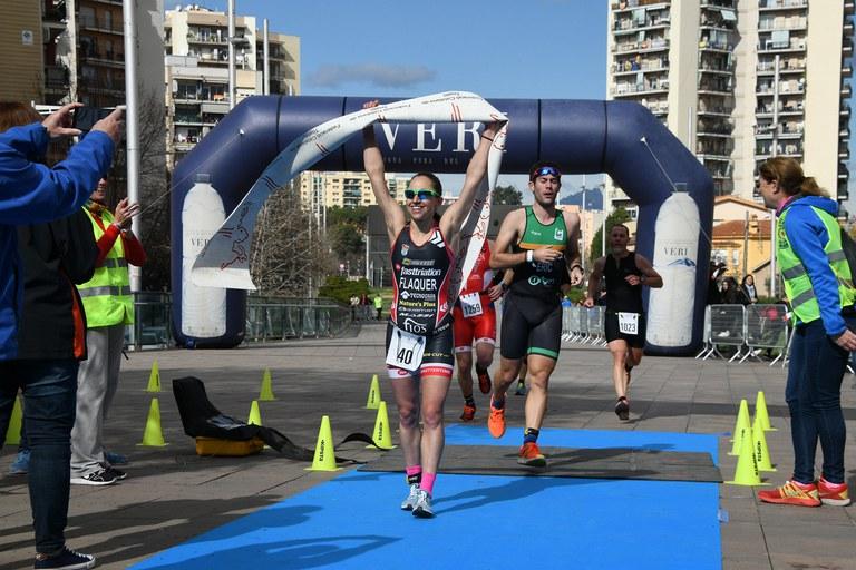 En la categoría femenina, Anna Flaquer ha sido la ganadora de la prueba (foto: Localpres)