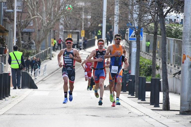 Un total de 270 atletas han participado en esta quinta edición del Duatlón (foto: Localpres)