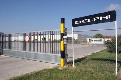 La planta de Delphi se encuentra en el polígono de Can Magí de Sant Cugat (foto: Europapress).