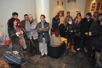 La alcaldesa ha agradecido el trabajo de las entidades (foto: Localpres).
