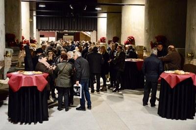 El Celler ha acogido este año la recepción de Navidad (foto: Localpres)