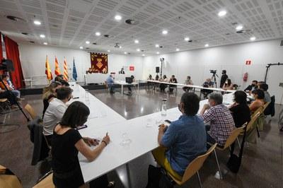 Imagen del pleno (foto: Ayuntamiento de Rubí - Localpres)