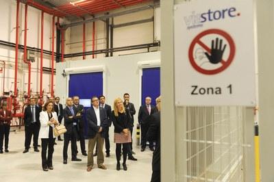 Visita a las nuevas instalaciones (foto: Localpres)
