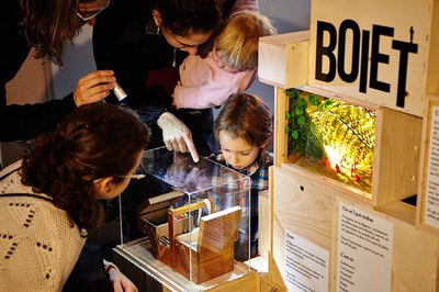 La exposición incluye varios dioramas (foto: Tantàgora).