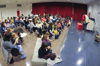 Las actividades familiares vuelven a ser uno de los ejes principales de la programación de la Biblioteca Municipal (foto: Localpres).