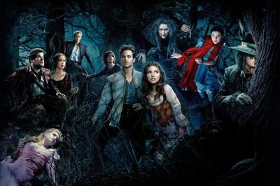 "Imagen promocional de la película ""Into the woods""."