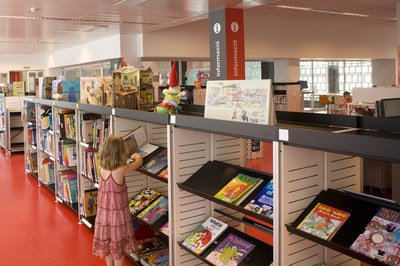 Los niños y niñas serán los protagonistas de la mayoría de actividades de verano en la Biblioteca Mestre Martí Tauler.