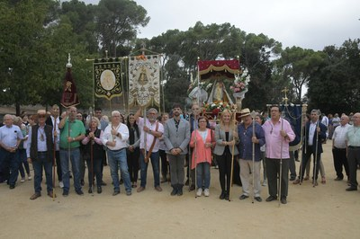 El año pasado, la Hermandad Virgen de la Luna celebró el 50 aniversario de la romería en Cataluña (foto: Ayuntamiento de Rubí - Localpres).