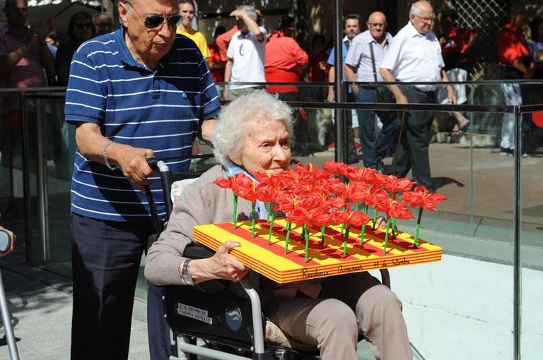 Ofrenda de las entidades (foto: Localpres)